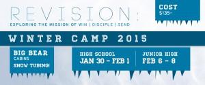 High School Winter Camp 2015 @ Big Bear