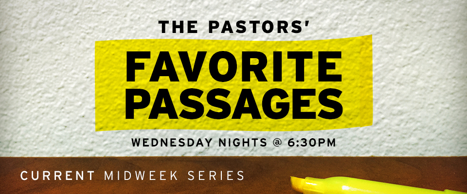 Men's Study - Favorite Passages