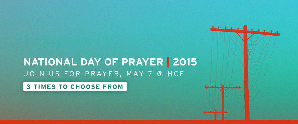 National Day of Prayer at HCF