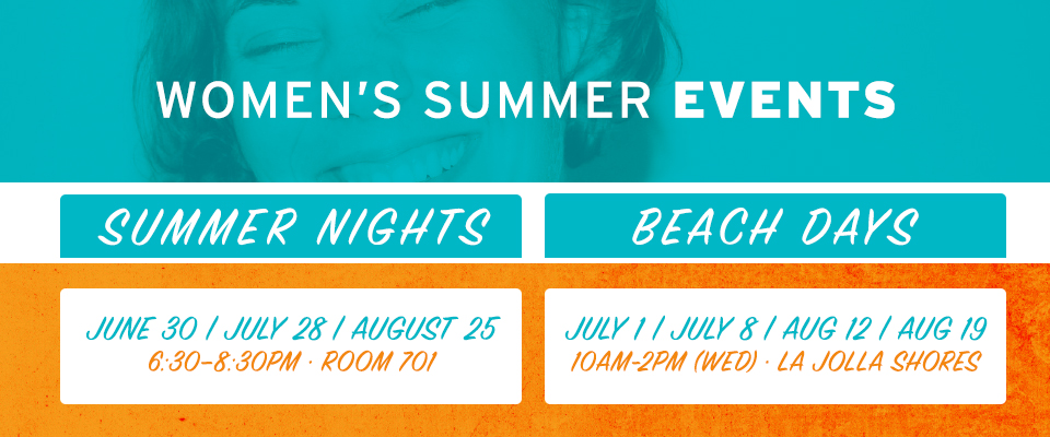 Renew Women's Ministry - Summer Events