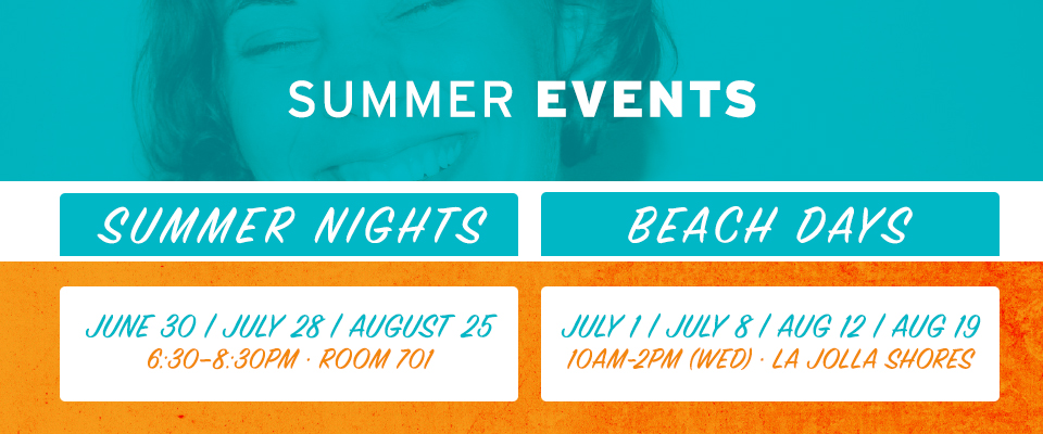 Women's Ministry - Summer Events