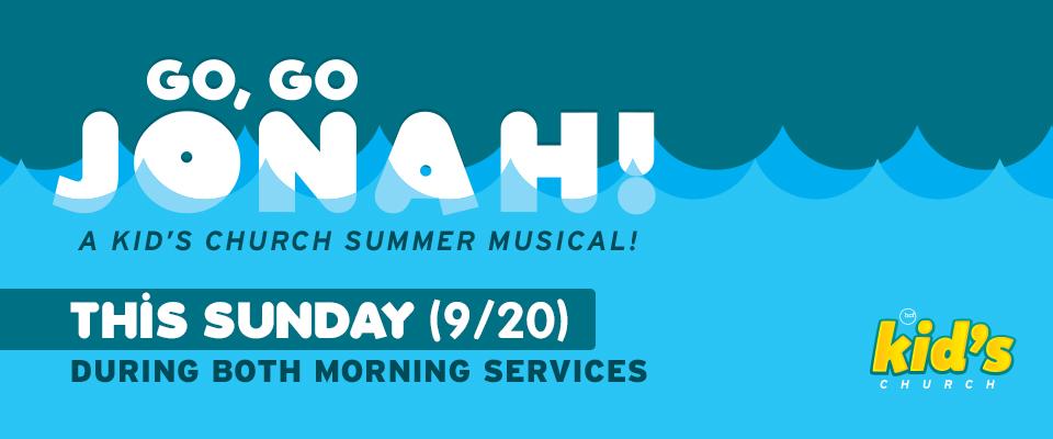 Go, Go Jonah!