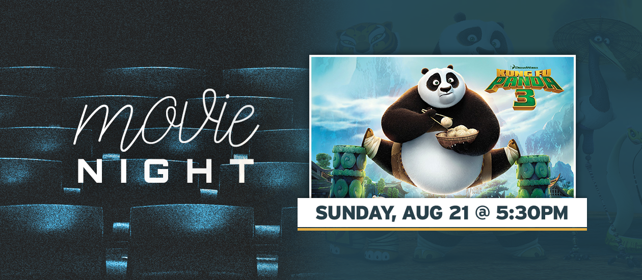 Movie Night Kung Fu Panda 3