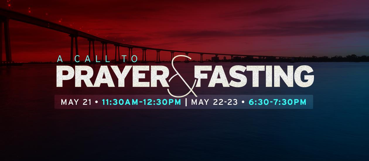Prayer & Fasting – May 2017