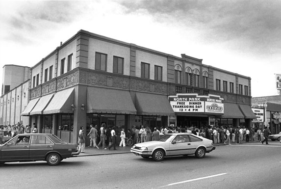 North Park Theatre 1982