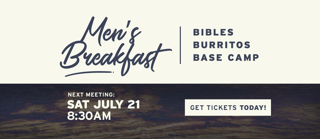 Men's Breakfast | July 21