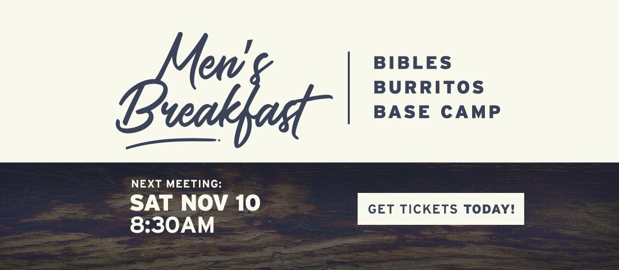 Men's Breakfast | Nov 10