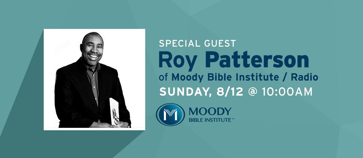 Guest Speaker | Roy Patterson