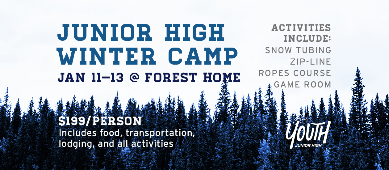Jr High Winter Camp 2019