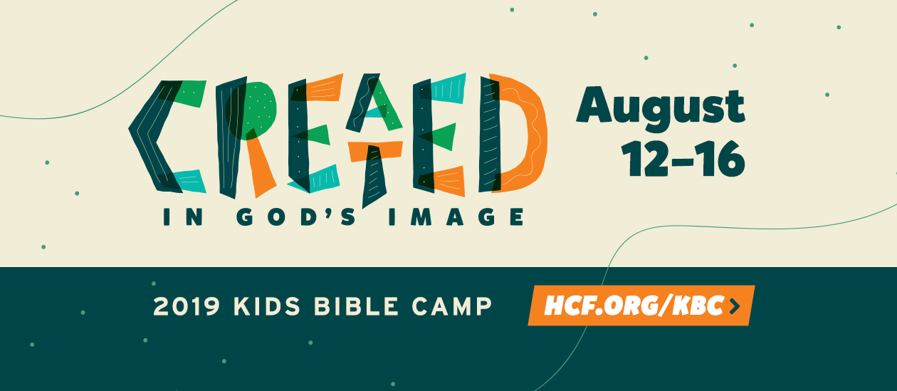 HCF Kid's Bible Camp 2019 | Created In God's Image