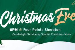 HCF Christmas Eve Service – 6PM @ Four Points Sheraton