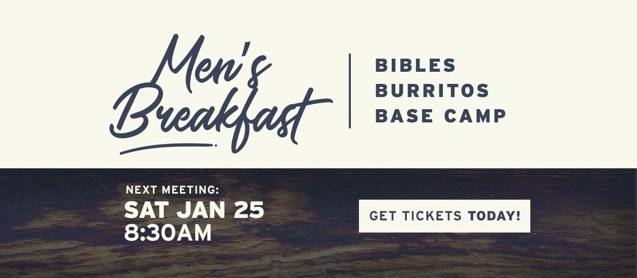 Men's Breakfast – January 25, 2020