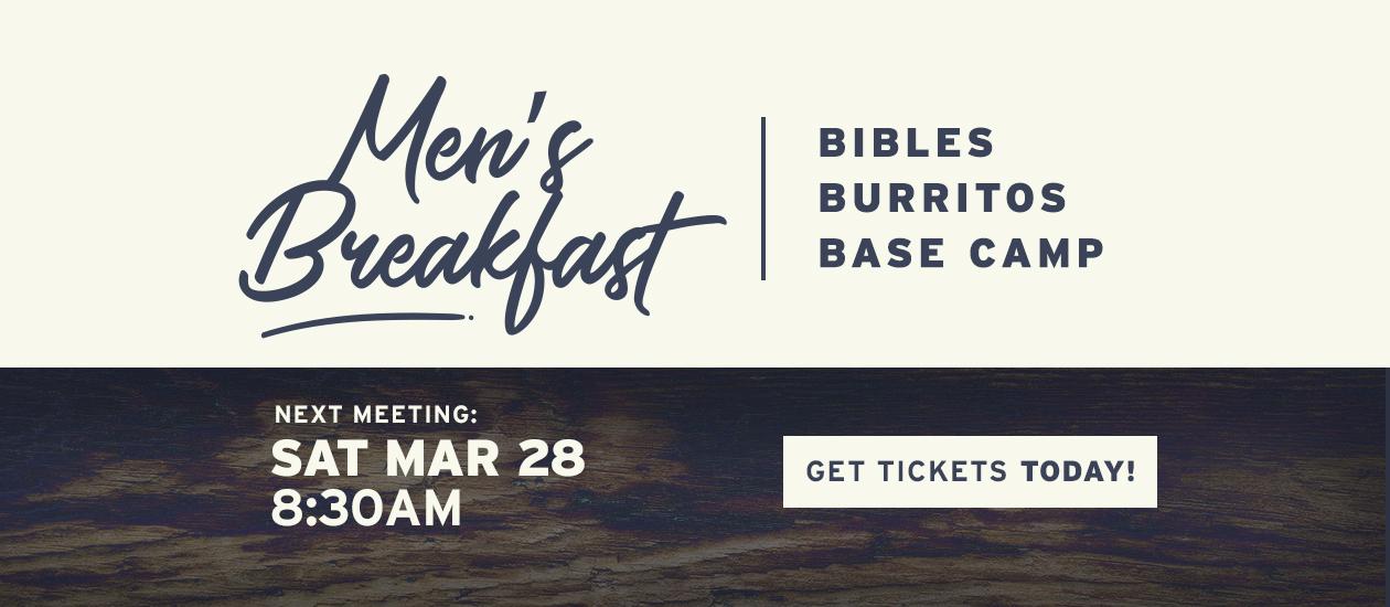 Men's Breakfast – March 28, 2020