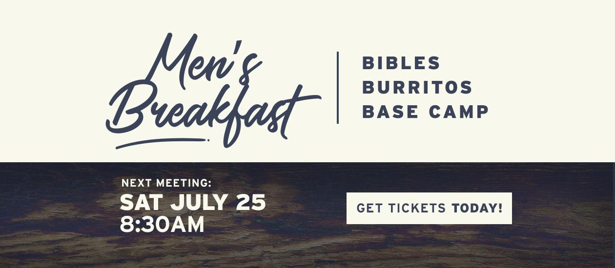 Men's Breakfast – July 25, 2020